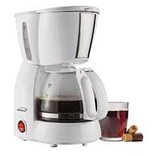 Brentwood TS-213W 4 Cup Coffee Maker, White