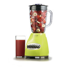 Brentwood JB-220G 12-Speed + Pulse Blender,  Green