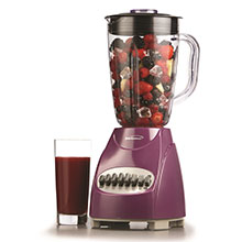 Brentwood JB-220PR 12-Speed + Pulse Blender, Purple