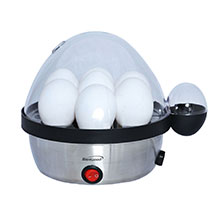Brentwood TS-1040S Stainless Steel Electric 7 Egg Cooker with Auto Shut Off