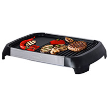 Brentwood Select TS-641 1200-Watt Electric Indoor Grill & Griddle, Stainless Steel