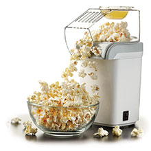 Brentwood PC-486W 8-Cup Hot Air Popcorn Maker, White
