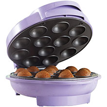 Brentwood TS-254 Non-Stick 12 Cake Pop Maker, Purple