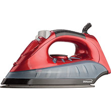 Brentwood MPI-61 Non-Stick Steam Iron, Red