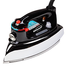Brentwood MPI-70 Classic Steam Iron, Chrome Plated