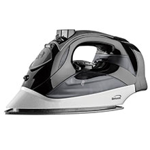 Brentwood MPI-90BK Steam Iron with Auto Shut-Off, Black