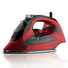 Brentwood MPI-90R Steam Iron with Auto Shut-Off, Red