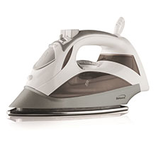 Brentwood MPI-90W Steam Iron with Auto Shut-Off, White