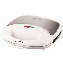 Brentwood TS-245 Non-Stick Panini Press and Sandwich Maker, White