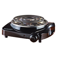 Brentwood TS-306 1200w Single Electric Burner, Black