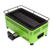Brentwood BBF-31G Non-Stick Smokeless Portable BBQ, Green