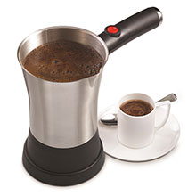 Brentwood TS-117S Stainless Steel Electric Turkish Coffee Maker, 5 Turkish Cups