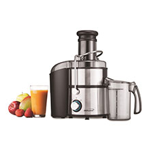 Brentwood JC-500 2-Speed 800w Juice Extractor with Graduated Jar, Stainless Steel