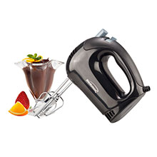 Brentwood HM-44 Lightweight 5-Speed Electric Hand Mixer, Black