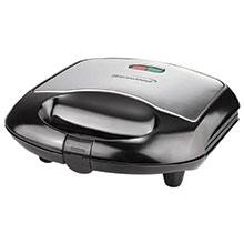 Brentwood TS-240B Non-Stick Compact Dual Sandwich Maker, Black