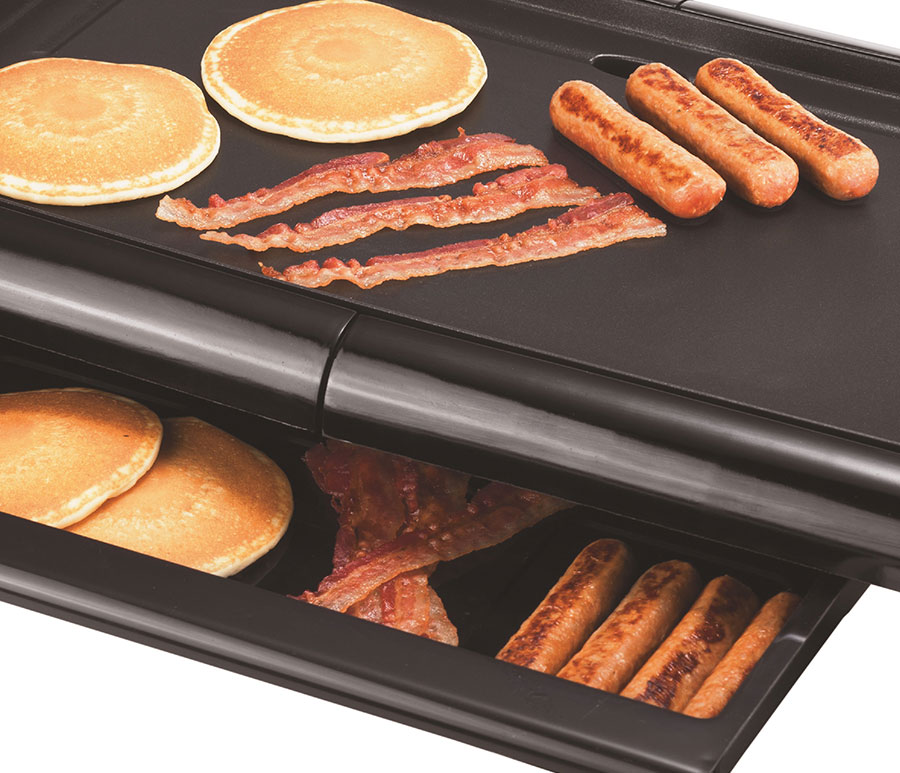 Brentwood Ts 840 Non Stick Electric Griddle With Drip Pan