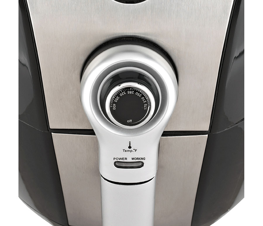 Brentwood Select Af 32mbk 3 4qt Electric Air Fryer Timer