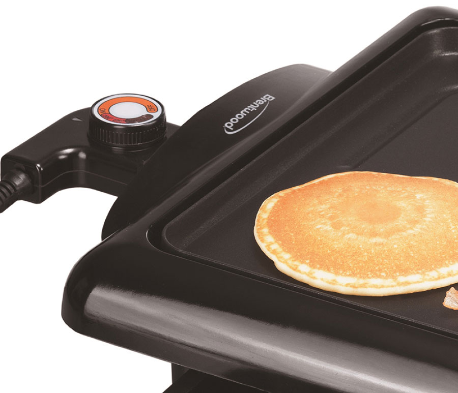 Brentwood Ts 840 1400 Watt Non Stick Electric Griddle With