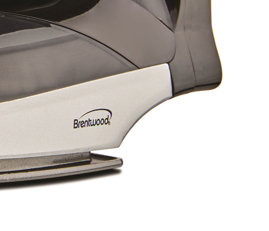 Brentwood Mpi 59b Non Stick Steam Iron With Retractable