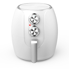 Coming Soon - Brentwood AF-300W 3.2-Quart Electric Air Fryer, Timer & Temp. Control, White