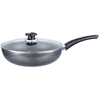 Aluminum Wok with Lid