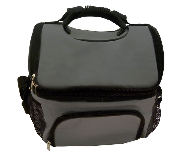 COMING SOON (CB-12GRY) 12-Can Cooler Bag w/ Extra Storage