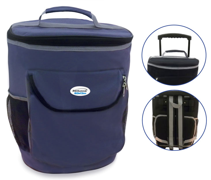 (CB-40BL) Wheeled Cooler Bag - Blue