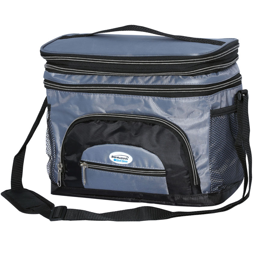 Cooler Bag 12 Can w/ Hard Plastic Ice Bucket (CB-1201)