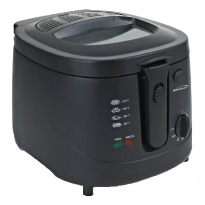 (DF-725) 2.5 Liter Deep Fryer in Black