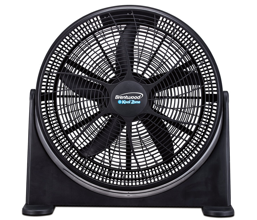"(F-20BKR) 20"" High-Velocity Power Fan"