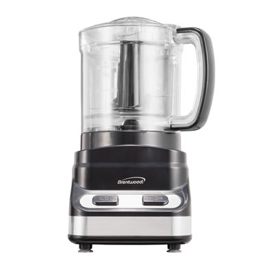 Brentwood FP-547 3 Cup Mini Food Processor, Black