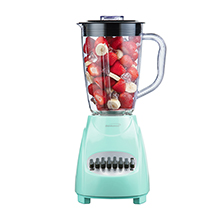 Brentwood JB-220BL 12-Speed Plus Pulse Blender, Blue