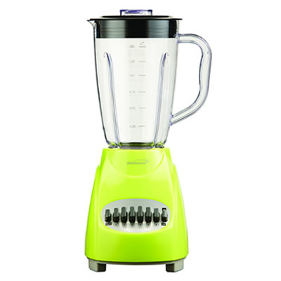 (JB-220G) 12 Speed Blender Plastic Jar - Lime Green