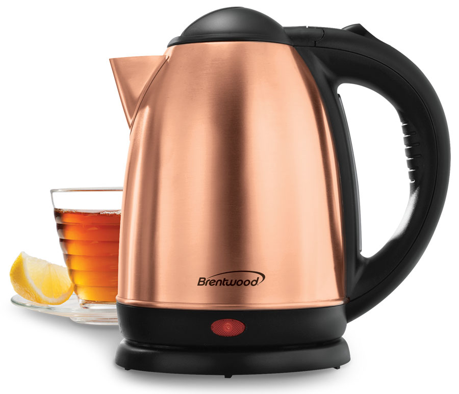 COMING SOON - 1.7 Liter Rose Gold Electric Stainless Steel Kettle