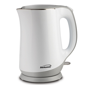 (KT-2017W) Cool-Touch Electric Kettle White