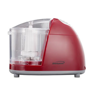 (MC-105) Mini Food Chopper in Red