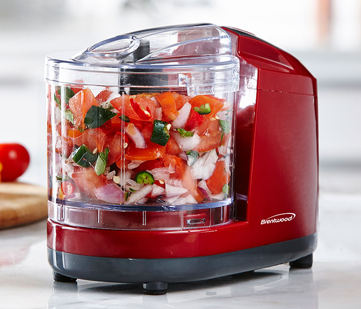 Kitchen Essential Mini Chopper - Red