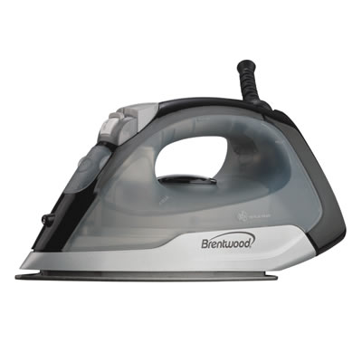 (MPI-53) Non-Stick Steam/Dry, Spray Iron in Black