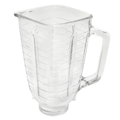 1.25 Liter Square Glass Jar Replacement - Compatible with Oster<sup>&#174</sup> Blender (P-OST721)