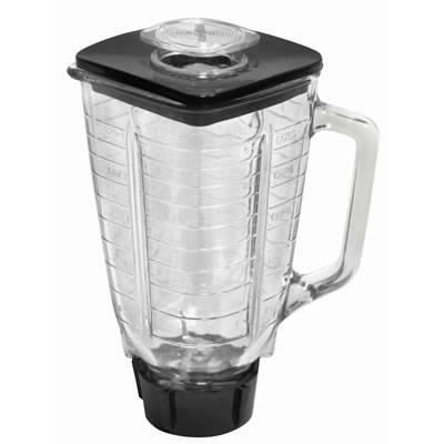 1.25 Liter Glass Jar Set Replacement - Compatible with Oster<sup>&#174</sup> Blender (P-OST722)