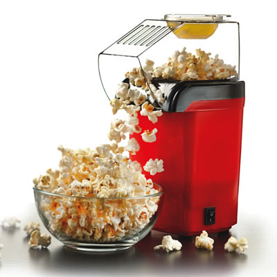(PC-486R) Hot Air Popcorn Maker - Red
