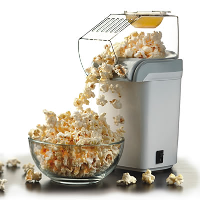 (PC-486W) Hot Air Popcorn Maker - White