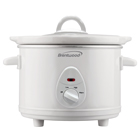Brentwood SC-115W 1.5 Quart Slow Cooker, White