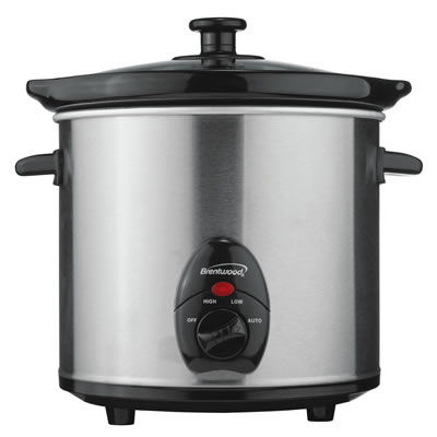 Stainless Steel 3.0 Quart Slow Cooker (SC-130S)