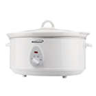 Brentwood SC-145W 6.5 Quart Slow Cooker, White