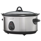 Stainless Steel 8.0 Quart Slow Cooker (SC-170S)