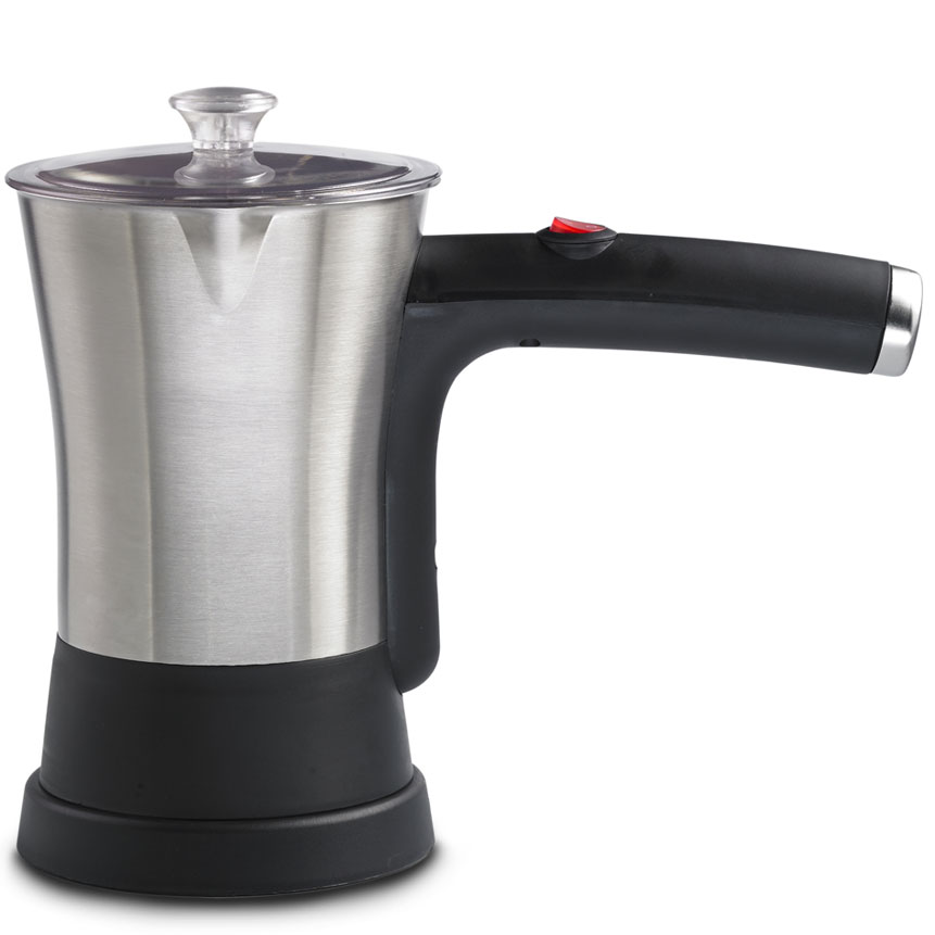 Brentwood TS-117S Stainless Steel Electric Turkish Coffee Maker, 4-Cups