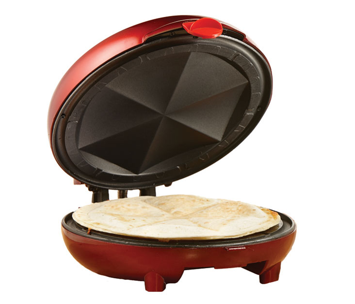 (TS-120) Quesadilla Maker in Red