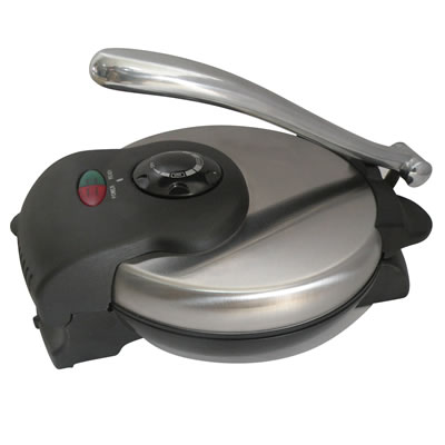 Tortilla Maker Non-Stick in Stainless Steel (TS-126)