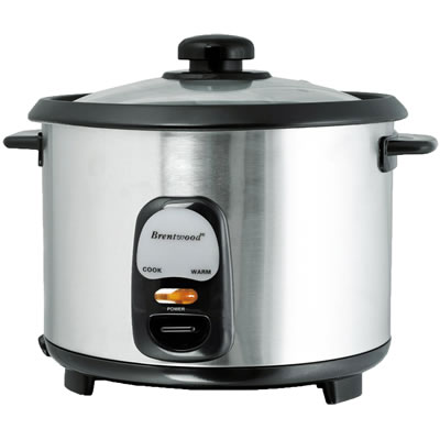 Stainless Steel 8 Cup Rice Cooker (TS-15)